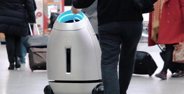 B.A.R.Y.L, la poubelle intelligente arrive dans les gares