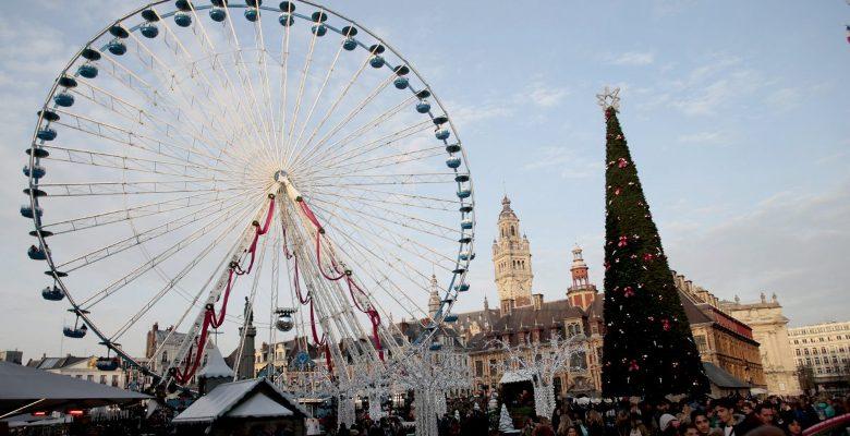 Lille parmi les meilleures villes pour le shopping à Noël