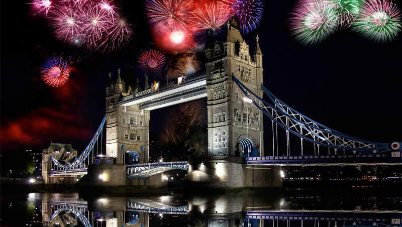 Nouvel an Londres