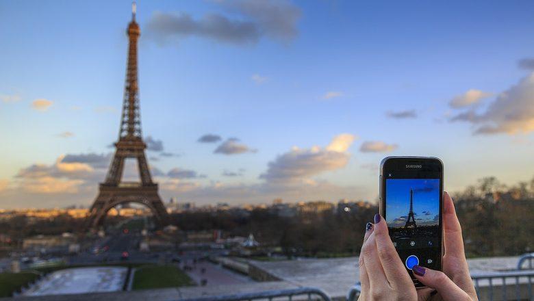 touriste Paris